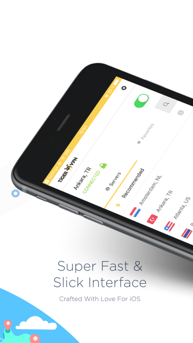 tigerVPN - Fast & Secure VPN by Tiger At Work (iOS, United States) -  SearchMan App Data & Information