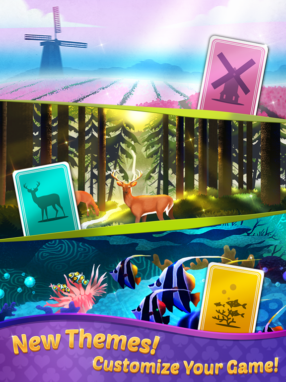 TriPeaks Solitaire with Themes screenshot 9