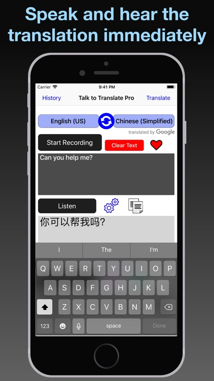 T2T: Speech Translation screenshot-8