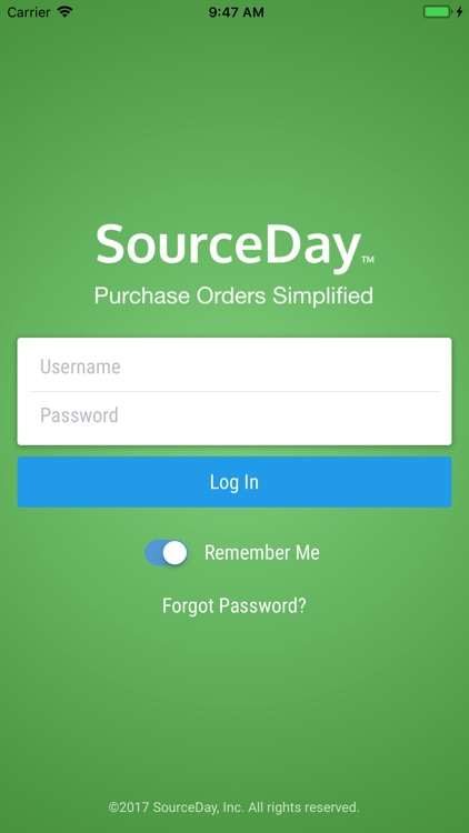 SourceDay Mobile