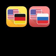 German and Russian Language Translator Bundle