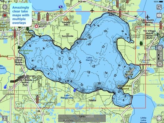 Clear Lake Indiana Map.Aqua Map Indiana Lakes Gps Hd App Price Drops
