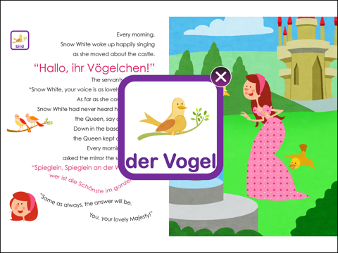 Princesses Learn German - náhled