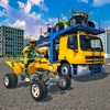 ATV Bike Transport Truck 3D