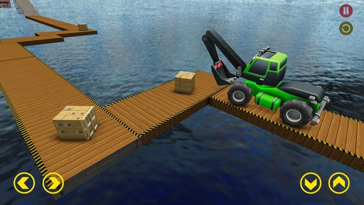 Mega Ramp Excavator Stunts Sim screenshot-4