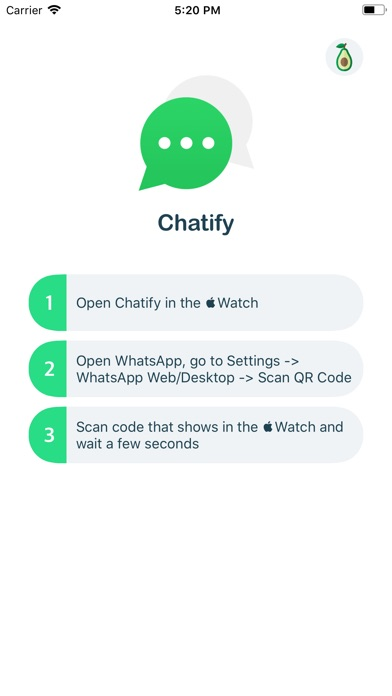 Screenshot for Chatify for WhatsApp in Egypt App Store
