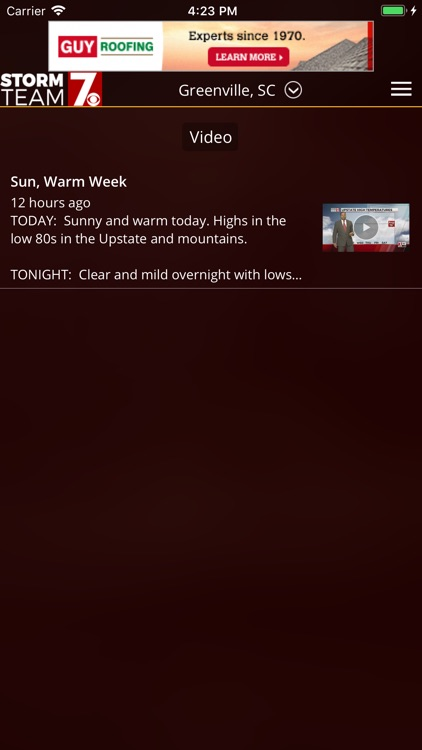 WSPA Weather screenshot-3