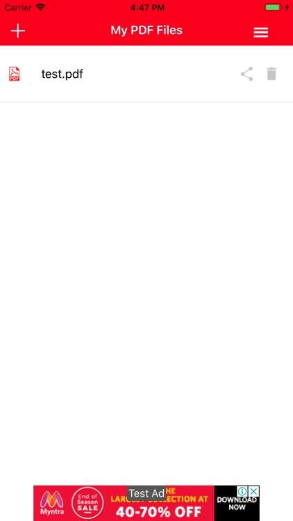 PDF Converter : Word to PDF screenshot-3
