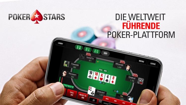 PokerStars Online Poker Spiele screenshot-0