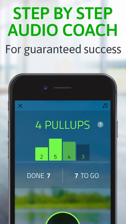Pull ups: 20 pull-ups trainer screenshot-2