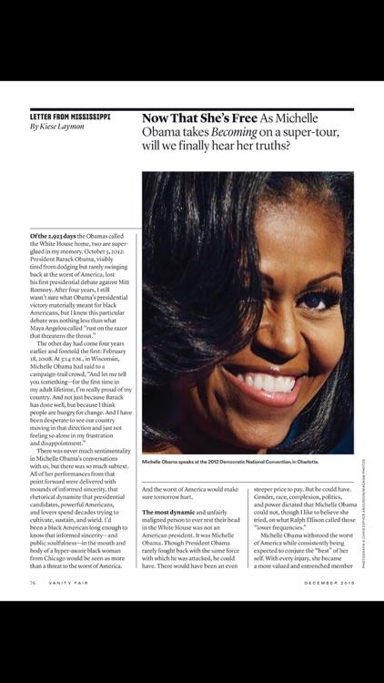 Vanity Fair Magazine screenshot-3