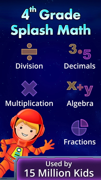 4th Grade Math - Multiplication & Fractions Games