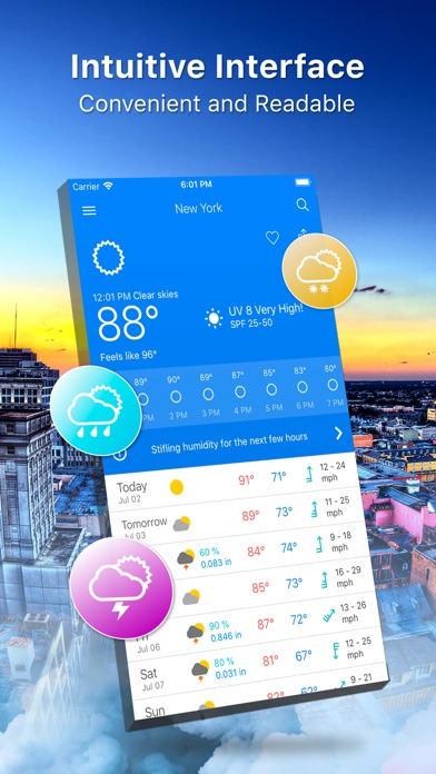 Weather 14 days Pro Screenshot