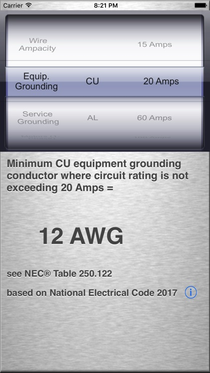 A NEC® 2017 Quick Reference