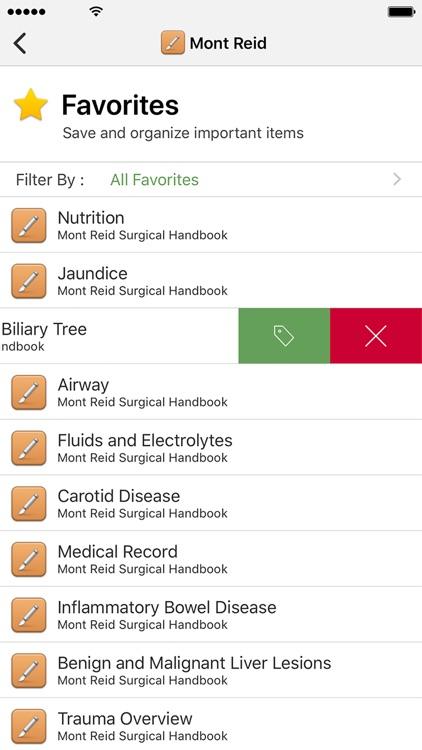 Mont Reid Surgical Handbook screenshot-4