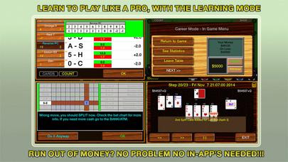 Blackjack 21 Pro Multi-Hand screenshot four