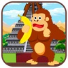Feed Hungry Gorilla in Jungle - Monkey jumping game and feeding bananas