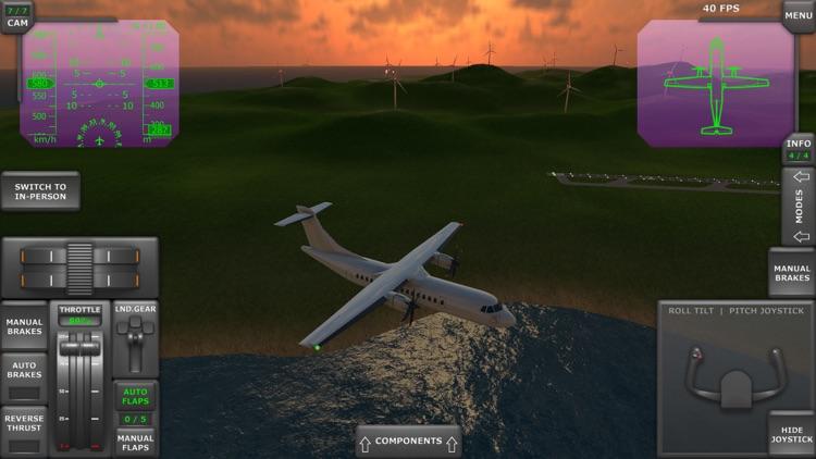 Turboprop Flight Simulator screenshot-7