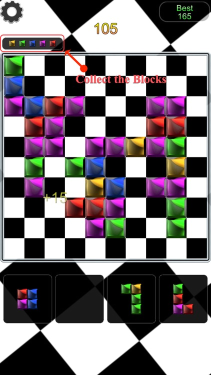 Chain the Color Block