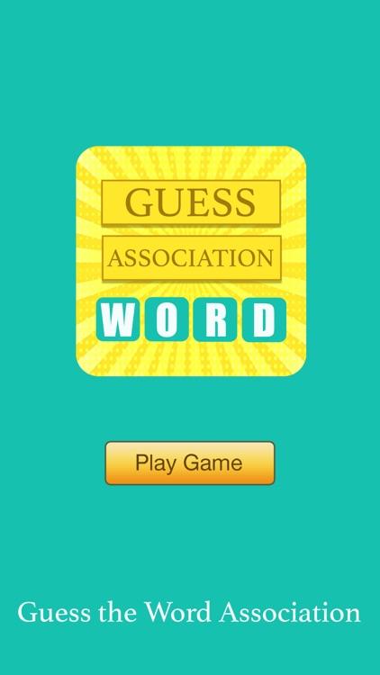 Guess the Word Association screenshot-4