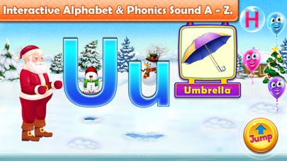 Santa Run - Learning FlashCard screenshot 5