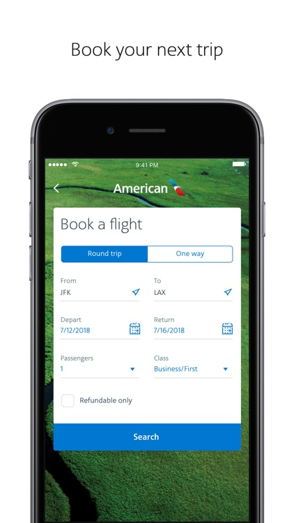 American Airlines screenshot-2