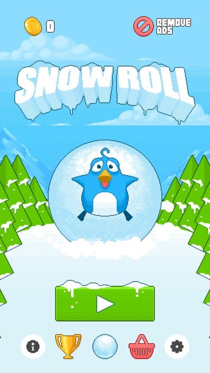 Snow Roll screenshot-4