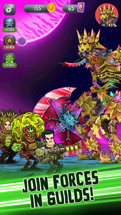 Tap Busters: Galaxy Heroes screenshot-2