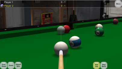 Virtual Pool Online screenshot one