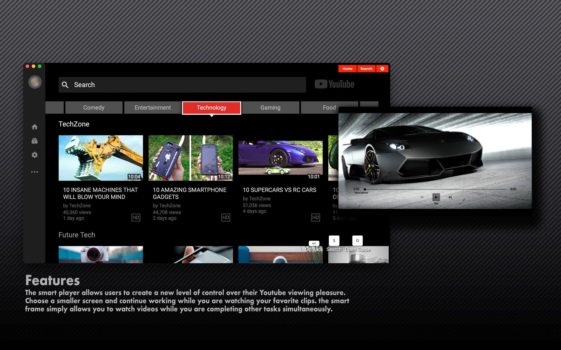 Tube HD on the Mac App Store