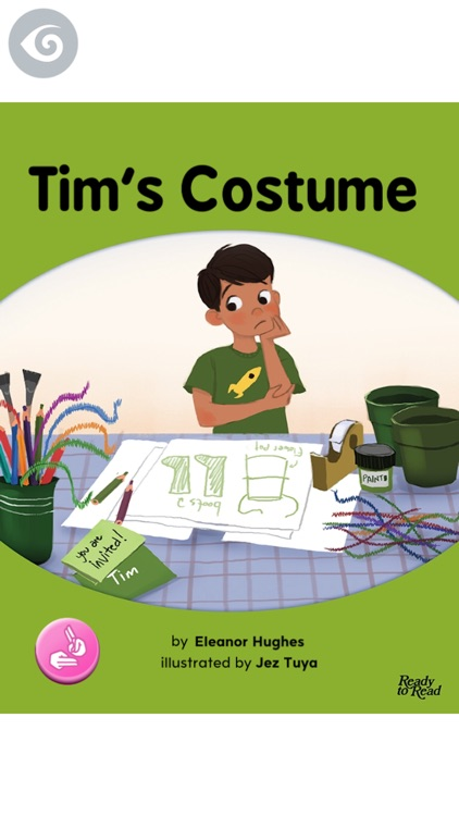 Tim's Costume – Ready to Read