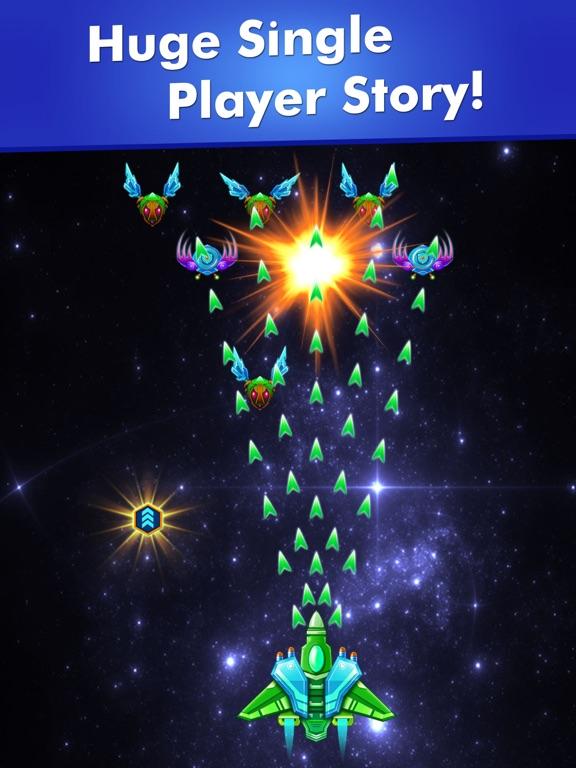 Galaxy Attack: Alien Shooter на iPad