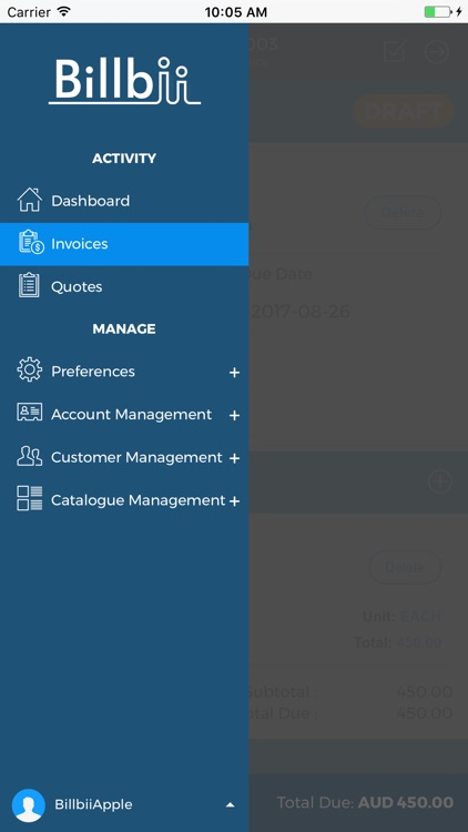 Invoicing & Quotes | Billbii screenshot-4