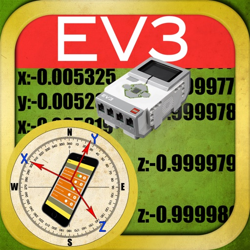 EV3nts - EV3 Sensors : Gyro, Compass, Accelerometer and Gravity