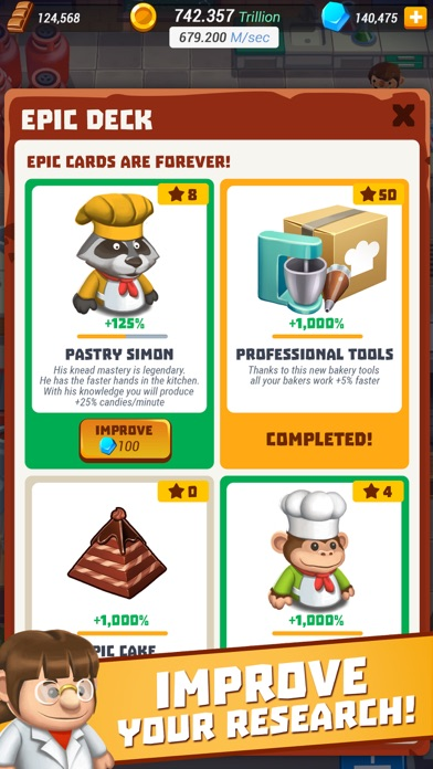Idle Cooking Tycoon - Tap Chef Screenshot 3