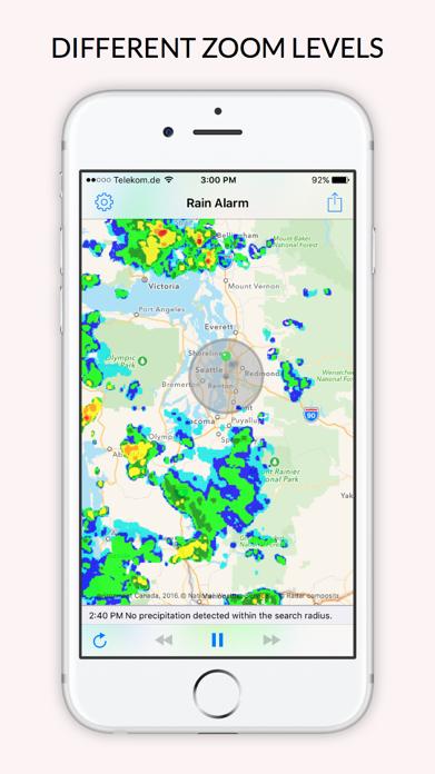 Rain Alarm - Weather Radar Screenshot