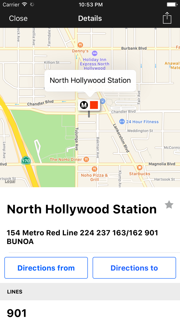 Go Metro LACMTA Official App Screenshot