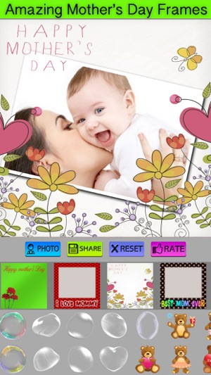 Photo Frames For Mother\'s Day on the App Store
