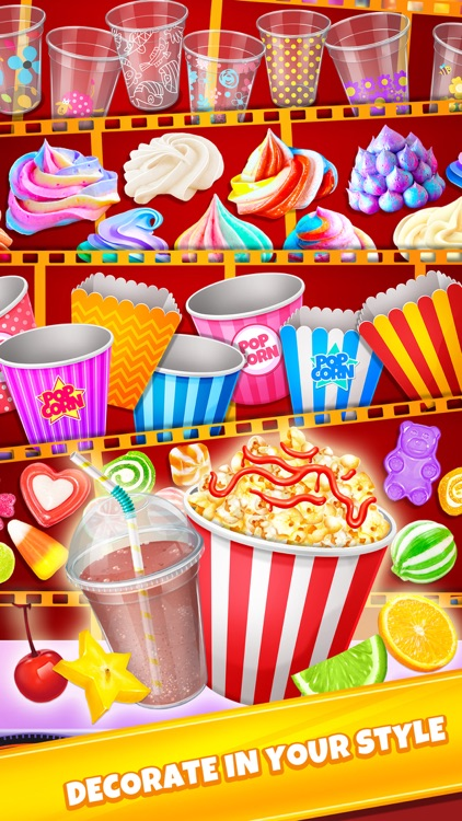 Crazy Movie Night Food Party screenshot-2
