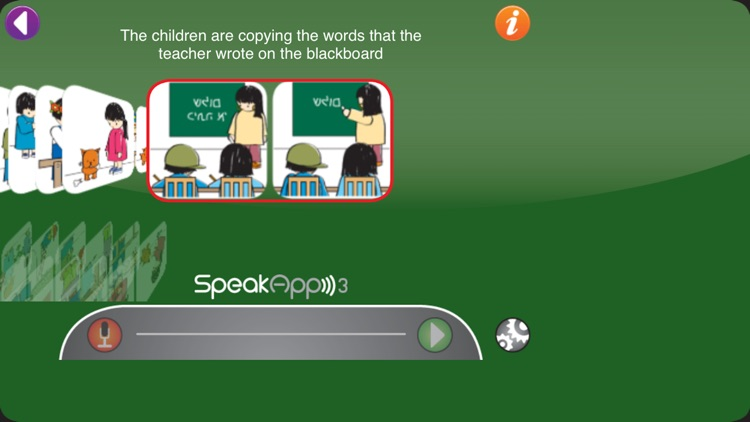 SpeakApp 3 Lite screenshot-3