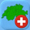 Swiss Cantons - Map & Capitals