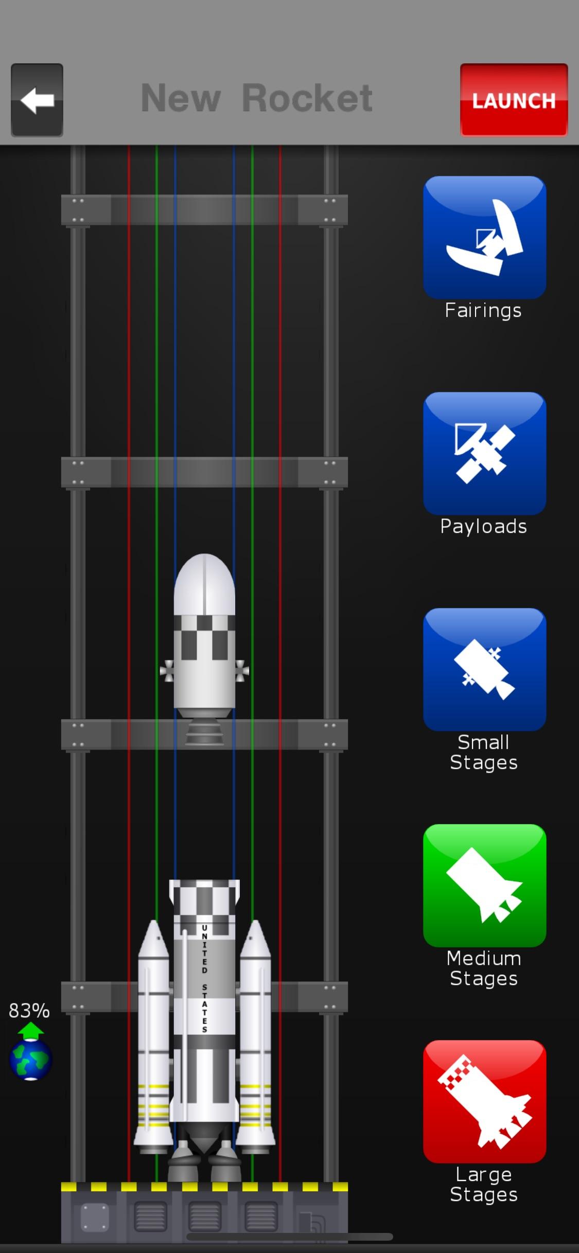 Screenshot do app Space Agency