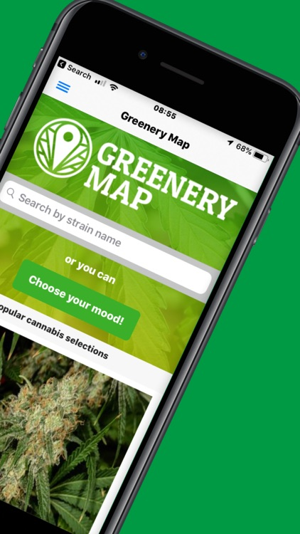 Greenery Map: Cannabis Search