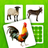 PAPPU SIA - Farm Pairs - Match Animals artwork