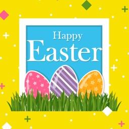 Easter Egg Sticker