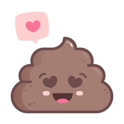 PooPooPidou Cute Poop Stickers