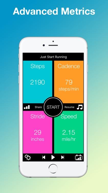 jS Running - Walking Tracker and Step Counter screenshot-3