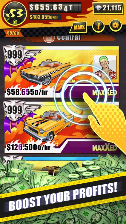 Crazy Taxi Idle Tycoon screenshot-2