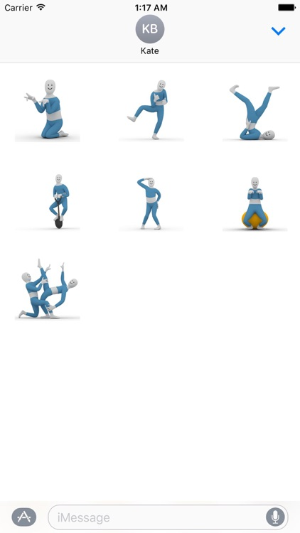 Dancing Man Animated Stickers