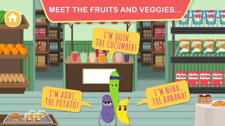 Fruits Vs Veggies– Supermarket